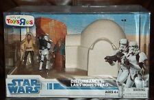 STAR WARS LEGACY COLLECTION TOYS R US EXCLUSIVE DISTURBANCE AT LARS HOMESTEAD