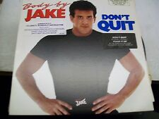 Body By Jake-Don't Quit-OST-LP-Vinyl Record-MCA-MCA5505-VG++