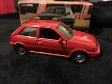 Schabak 1/43 Ford Fiesta XR2i Red Mint & Boxed Dealer Model