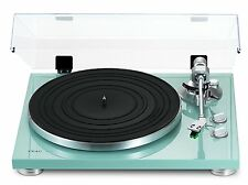 TEAC TN-300 Turntable/Cartridge/Dustcover/Preamp/USB TN300-Turquoise 100-24