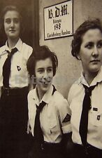WW2 Picture Photo Member Young women of Bund Deutscher Mädel League German 1058