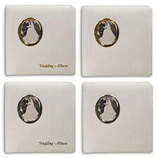 Pioneer WF-5781 Oval Frame Wedding Album 5x7 & 8x10 Photos Silver No Text w