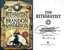 Brandon Sanderson~SIGNED & DATED~The Rithmatist~1st Edition HC