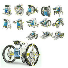 1Set  , Creative 14-in-1 Solar DIY Robot Kit Toy Child Gift