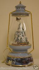 The Bradford Exchange Thomas Kinkade Limited Edition Christmas Musical Lantern