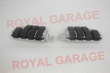 new royal bikes avenger chopper customised rear paddle footrest black chrome 3