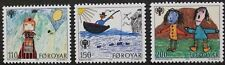 International year of the child stamps, 1979, Faroe Islands, SG ref: 44-46, MNH