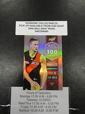 2013 AFL CHAMPIONS MILESTONE MG20 JASON WINDERLICH ESSENDON