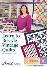 Learn to Restyle Vintage Quilts Pattern Book with Interactive DVD: With...