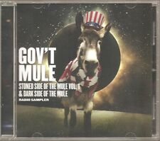 "GOV`T MULE ""Stoned Side Of The Mule Vol.1 & Dark Side Of The Mule"" Promo CD"