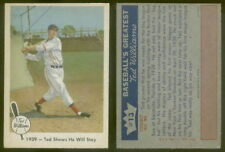 (24135) 1959 Fleer 13 Ted Williams-Ted Shows He Will Stay Red Sox-EM