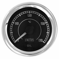 Smiths Flight Electrical Oil Temperature Gauge - 9° To 170°C - Race/Rally