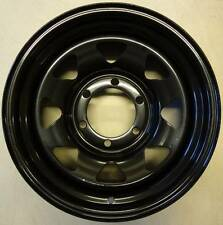 15x7 Black 5 Stud 114.3 PCD 0 Offset CB 75 LR 1120KG Wheels