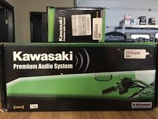 Kawasaki Premium audio System (2 piece package)