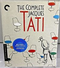 The Complete Jacques Tati Set Criterion Blu-Ray Box Set Oct-'14) 6 Movies