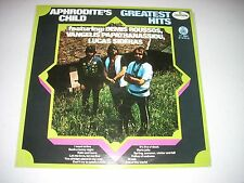 APHRODITE'S CHILD Greatest Hits LP Yugoslavia Import Vangelis Roussos Sideras NM
