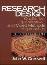 Research Design by John W Creswell