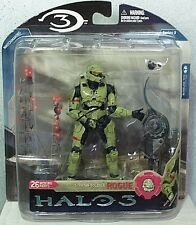 McFarlane Toys Halo 3 Spartan Soldier Rogue Action Figure Series 3 MIP