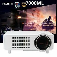 4000 Lumens LCD LED HD Home Theater Business Data Show Multimedia Projector 3D