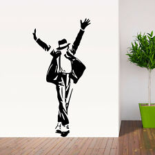 Michael Jackson Vinyl Decal Art Wall Sticker Removable Paper Mural Home mural
