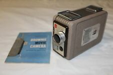 VINTAGE BROWNIE 8mm MOVIE CAMERA MODEL 2 * KODAK * WITH INSTRUCTION MANUAL