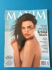 MAXIM MAGAZINE IRINA SHAYK JULY/AUGUST 2014 NO LABEL