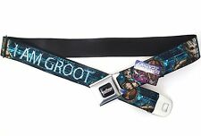 Guardians Of The Galaxy Groot Poses Marvel Licensed NWT Seat-belt Buckle Belt