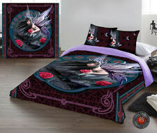 ROSE FAIRY NOUVEAU - Duvet Cover Set for DOUBLE BED artwork by Anne Stokes