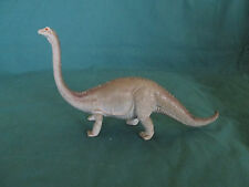 Vintage Imperial Made In China on Base 13 Inch Hard Rubber Dinosaur