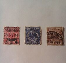 German empire stamps - used- 1899-imperial eagle - germany