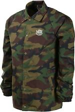 Vans Off The Wall Torrey Peace Leaf Camo Coaches Jacket Windbreaker Mens Sz M