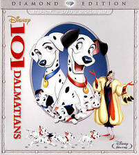 101 Dalmatians (Blu-ray/DVD, 2015, 2-Discs, Diamond Ed.) New. No code available.
