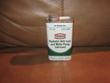Texaco Radiator Anti-Rust and Water Pump Lubricant 8 Ounce Full Can