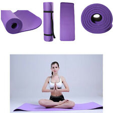 "Extra Thick 72"" x 24""x 0.4""(10MM) NPR Yoga Mat Pad Non-Slip Durable Gym Pad"