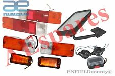 SUZUKI SJ COMPLETE LIGHT SET + RH REAR VIEW MIRROR SAMURAI SIERRA DROVER JIMNY