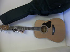 Crafter D7 acoustic guitar & gigbag brand new waranteed. professionally setup.