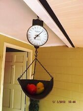 Antique Hanson  Hanging Produce 40 Lbs Scale