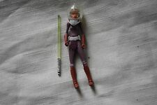 "2009 Hasbro Star Wars 3 3/4"" 1/18 scale Ahsoka Tano Space Suit Complete SW-398"