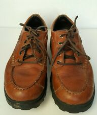 Red Wing Shoes Irish Setter Soft Paws Oxford Brown Walking Mens Size 8