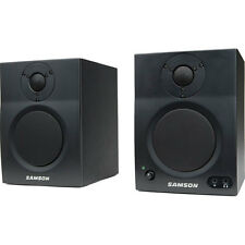 Samson MediaOne BT4 Two Way Active Studio Monitors With Bluetooth  (Pair)
