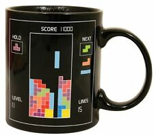 USA New Novelty Tetris Heat Change retro Mugs Color Change Cup for Xmas