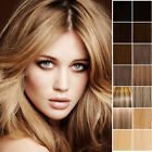 Clip In Hair Extensions Full Head Human Long Straight Any Colour 15 18 20 22 24