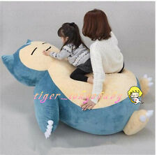 """59"""" Pokemon Snorlax Plush Toy Doll Pillow Bed CASE WITHOUT FILLER Children Gift"""