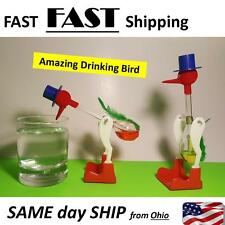 1Pc Non-Stop Liquid Glass Drinking Lucky Bird Duck Desk Toy Perpetual Motion New