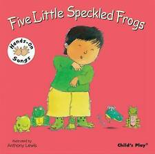 NEW  HANDS ON SONGS Five Speckled Frogs(BUY 3 GET 1 FREE book)  CHILD'S PLAY BSL