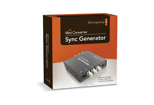 NEW Black Magic Design Sync Generator Mini Converter Video Editing