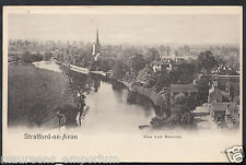 Warwickshire Postcard - View From Memorial, Stratford-On-Avon RS690