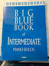 SHEET MUSIC-SACRED-BIG BLUE BOOK OF INTERMEDIATE PIANO SOLOS