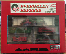 Micro-Trains N-Scale Special Edition Evergreen Express Christmas Set *Mint*