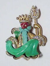 Hattie Carnegie King Neptune brooch